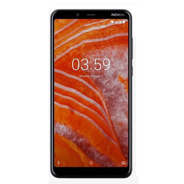 Nokia 3.1 Plus ( 3 GB RAM/ 32 GB ROM/ Dual SIM 4G), (Charcoal)