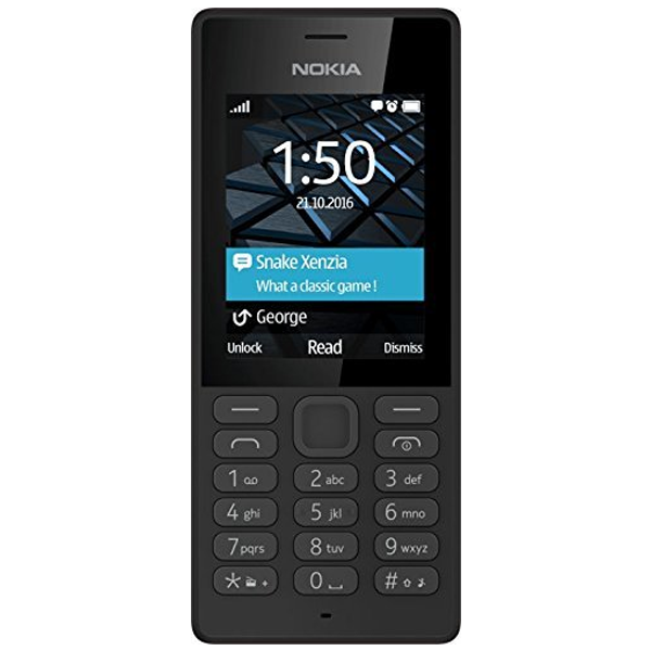 Nokia - 150, Dual SIM Mobile Phone, Black, 1 Year Warranty