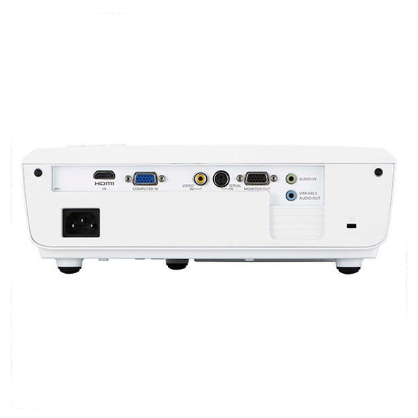 Panasonic LX300 Projector with USB & HDMI/ 1 Year Warranty/ White