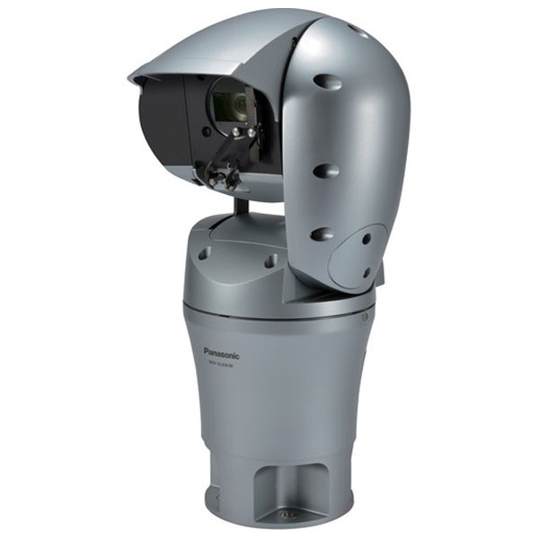 Panasonic WV-SUD638B AERO PTZ 1080p Rugged Network Camera ( Natural Silver )