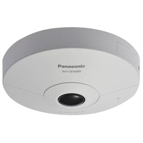 Panasonic WV-SFN480 i-PRO ULTRA Network Dome Camera with 1.38mm Fish Eye Lens