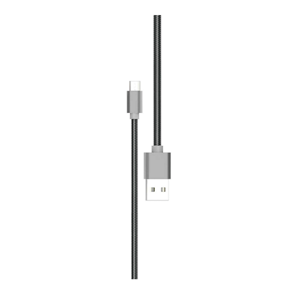 Pebble PNCM20 2m Micro USB Cable (Black)