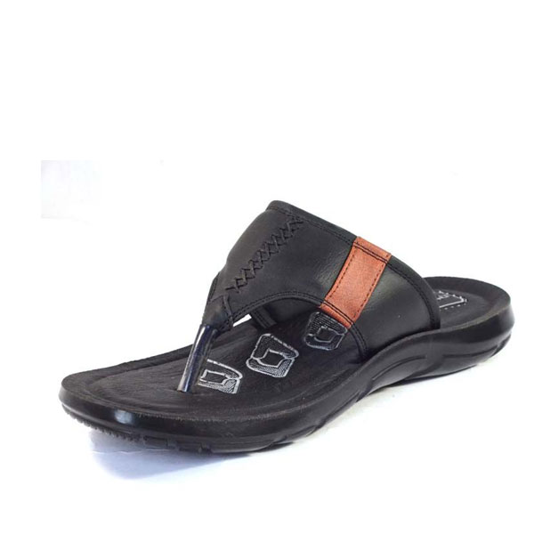 POKROK Men Pu casual slipper (dabloo2) Black, Tan,Brown