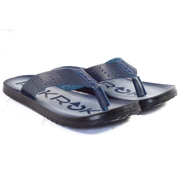 POKROK Men Pu Casual Slipper (sparkle-2) Blue, Tan, Brown, Black