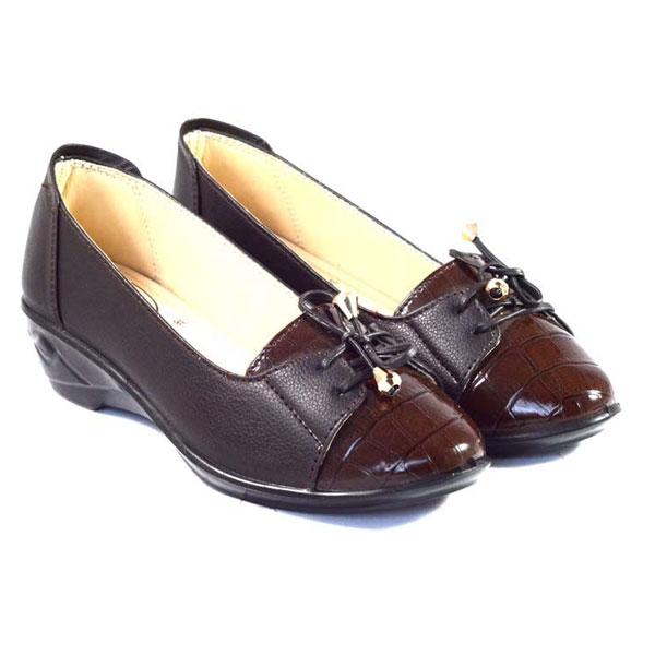 POKROK Women Pu Stylish Belly Shoes (getset2) Black