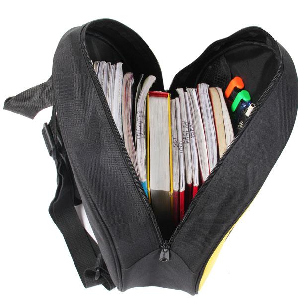 POLESTAR - smiley_Love (Black) School Bag