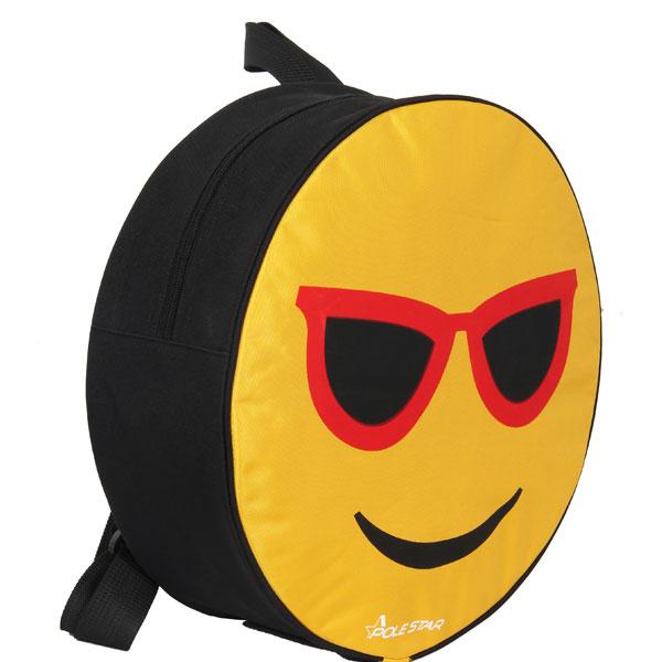 POLESTAR - smiley_Cool (RED-BLACK) School Bag