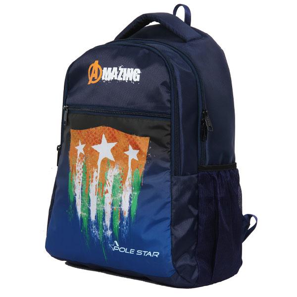 POLESTAR - Amaze_StarIndia School Bag (Blue)