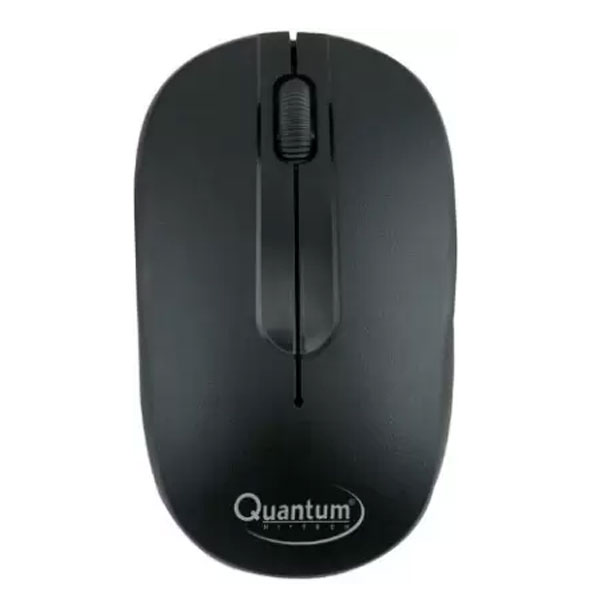 Quantum QHM271 Wireless Optical Mouse (Black)