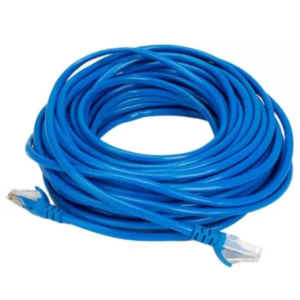 QUANTUM 3M CAT5E Lan 3m Patch Cable (Blue)