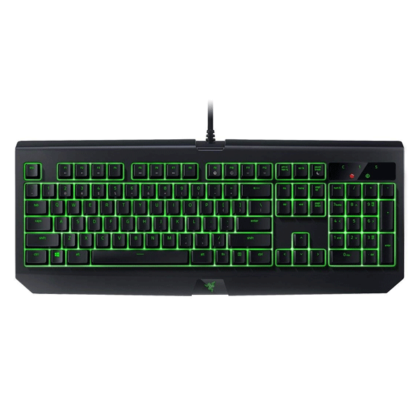 Razer BlackWidow RZ03-01703000-R3M1 Ultimate Mechanical Gaming Keyboard (Green Switch)