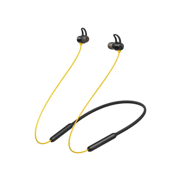 Realme Buds Wireless Bluetooth Headset with Mic (Yellow, In the Ear)