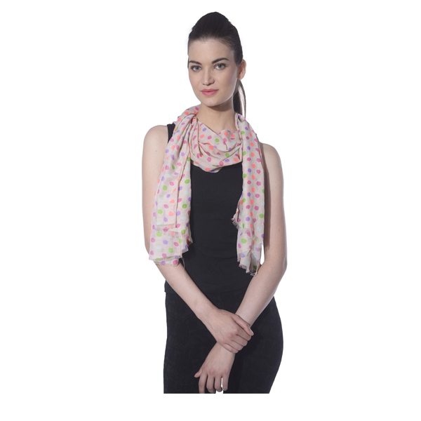 Ritzzy Cotton Pashmena Printed Women Stoles (Multi Color)