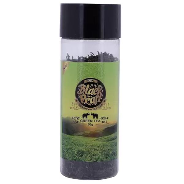 Royal Black Pearl (Heritage Blend) Assam Exotic Ranipukhuri Full Leaf Green Tea 60 gm