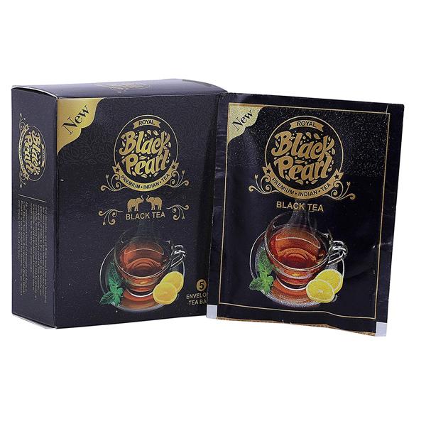 Royal Black Pearl (Heritage Blend) Assam Green 25 gm Tea Bags 5 Tea Bags