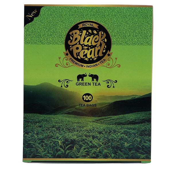 Royal Black Pearl (Heritage Blend) Assam 250 gm Green Tea Bags 100 Tea Bags