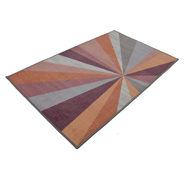 Rugsmith (RS000045) RUGS & CARPETS Cool Multi Color Premium Qualty GEOMETRICAL Pattern Polyamide Nylon KALEIDOSCOPE RUG Area Rug