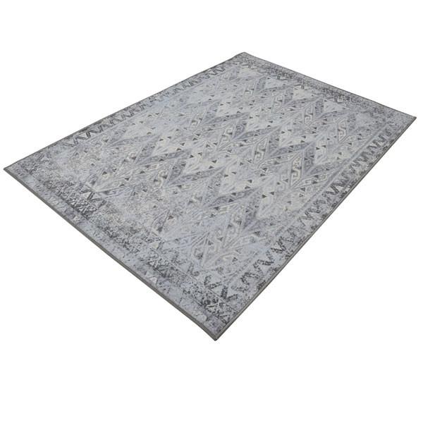 Rugsmith (RS000140) Grey Multi Color Premium Qualty Distressed Pattern Polyamide Nylon PRIME RUG Area Rug