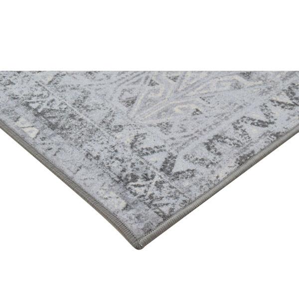 Rugsmith (RS000141) Grey Multi Color Premium Qualty Distressed Pattern Polyamide Nylon PRIME RUG Area Rug