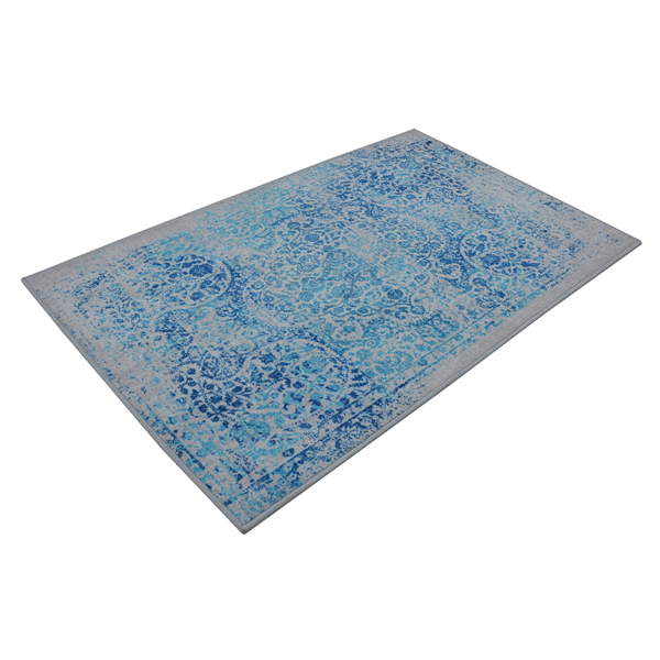Rugsmith (RS000065) Naughty Blue Color Premium Qualty FLORAL Pattern Polyamide Nylon PALACE RUG Area Rug