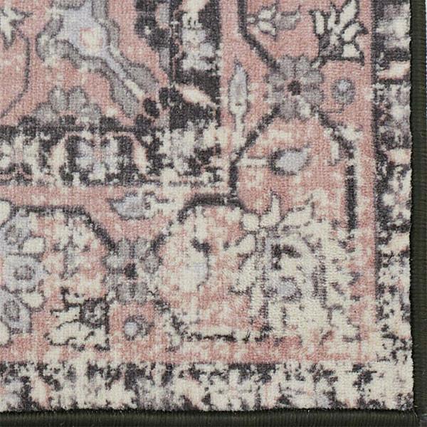 Rugsmith (RS000186) PINKROSETTE Color Premium Qualty CLASSICAL Pattern Polyamide Nylon ANATOLIA RUG Area Rug