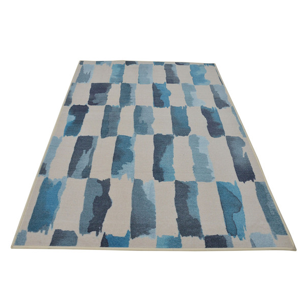 Rugsmith (RS000078 ) RUGS & CARPETS (Size 4 x 6) Multi Color Premium Qualty MODERN Pattern Polyamide Nylon PAINTED WEAVE RUG Area Rug