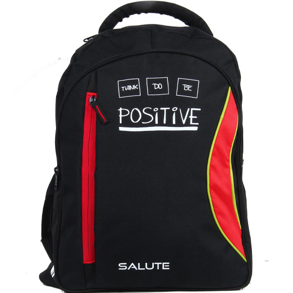 SALUTE - Capacity (Red-black) School Bag
