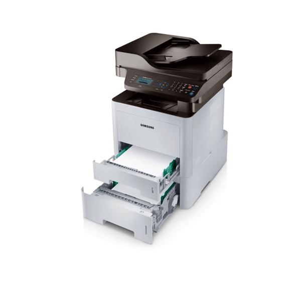 Samsung SL-M3870FD Multi-Function Monochrome All In One Printer (White)