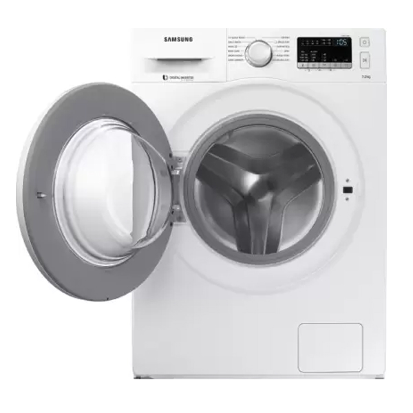 Samsung (WW70J4263MW/TL) 7 kg Fully Automatic Front Load Washing Machine with In-built Heater White