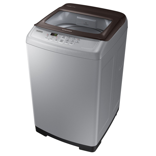 Samsung (WA60M4300HD/TL) 6 kg Fully-Automatic Top Loading Washing Machine( Imperial Silver)