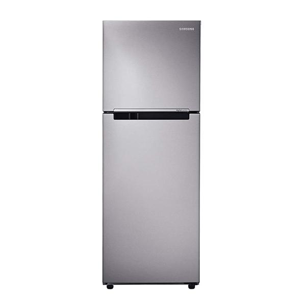 Samsung (RT28K3043S8/HL) 253 L 3 Star Frost Free Double Door Refrigerator, Inverter Compressor,Silver