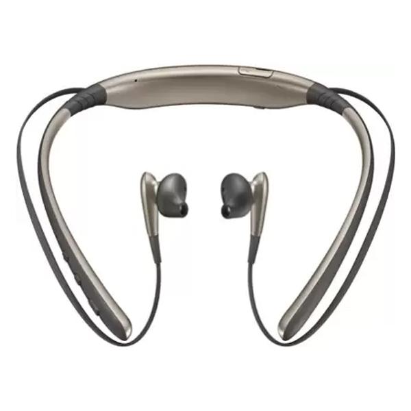 Samsung Level U (EO-BG920BBEGWW) Bluetooth Headset with Mic (In the Ear) Gold