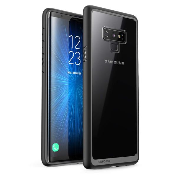 Samsung Galaxy Note 9 Case (B07G81XPG4) SUPCASE (Unicorn Beetle Style Series) Premium Hybrid Protective Clear Case for Samsung Galaxy Note 9 2018 Release (Black)