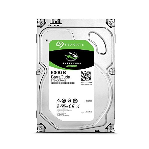 "Seagate 500GB Barracuda SATA 6Gb/s 7200 RPM 3.5"" Internal HDD (ST500DM009)"