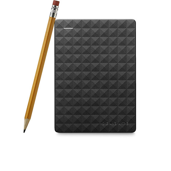 Seagate 2TB Expansion 2.5 Inch USB 3.0 External Hard Drive for PC(Black)
