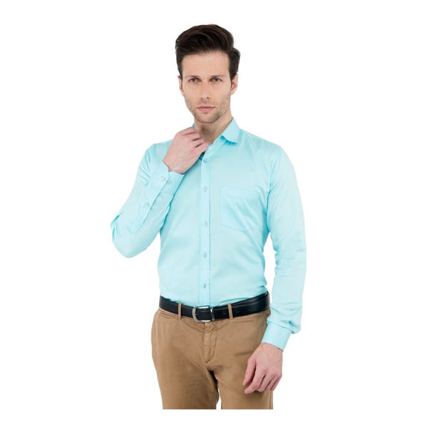 Shaurya-F Size-42 Men's Solid Party Shirt