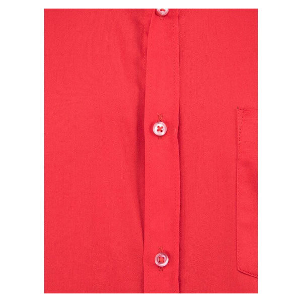 Shaurya-F Men's Solid Formal Shirts (red)