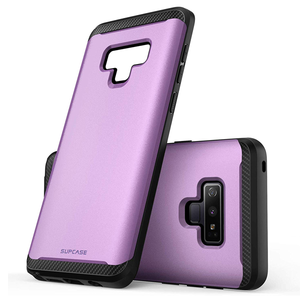 Supcase (B07H34C3VN) (UB Neo Series) Case for Samsung Galaxy Note 9, Full-Body Protective Dual Layer Armor Cover with Built-in Screen Protector for Samsung Galaxy Note 9 2018 (Purple)