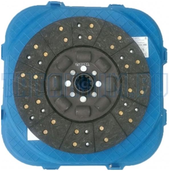 TATA 276325200105 Clutch Disc 310D 697 1512 CNG 1613C, 1 Year Warranty