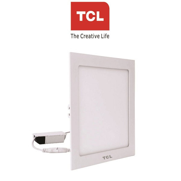 TCL LED Ultra Slim Flat Panel Light - 15W/6000K - Square White