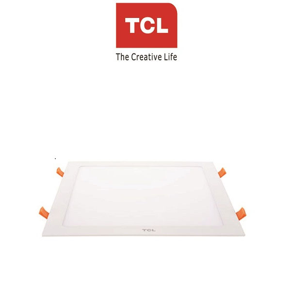TCL LED Ultra Slim Flat Panel Light - 8W/6000K - Square White