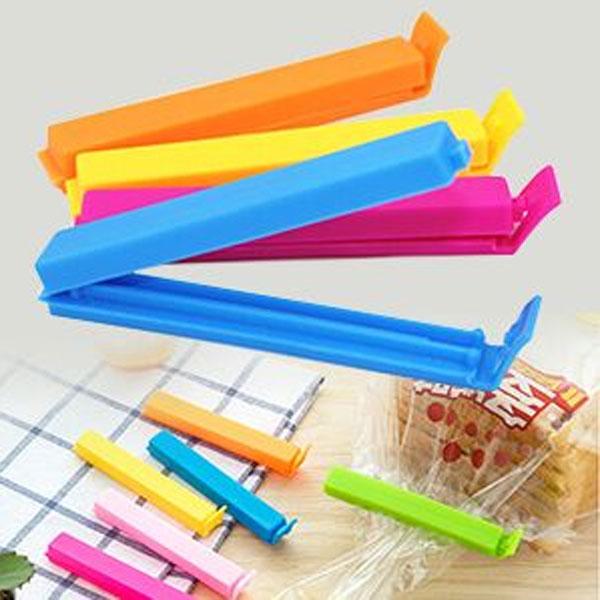 Vaibhavi Plastic Food Bag Sealing Clips A set of 36 pcs (3 Size x 12Pc Each) Multicolor