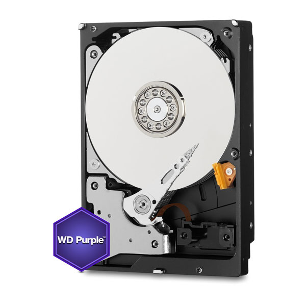 WD (WD60PURZ) 6TB Purple Surveillance Internal Hard Drive