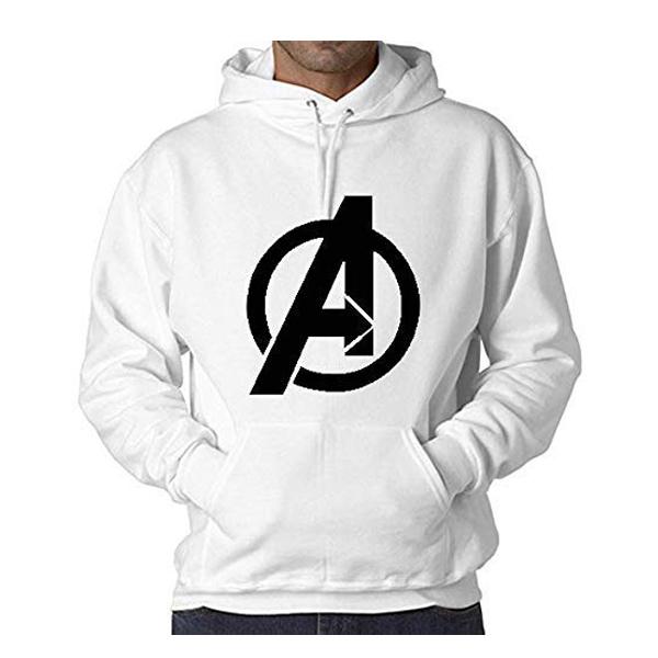 WearIndia Super Hero Avenger Printed Unisex Pullover Warm Cotton Printed Hoodies Sweatshirt ( Multicolor)