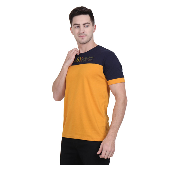 Xohy Tshirt (1108) fabric Cotton Short Sleeves Round Neck (Multicolour)