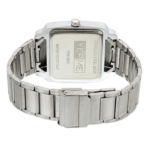 Yepme - 3800, Analog Metal Band Watch