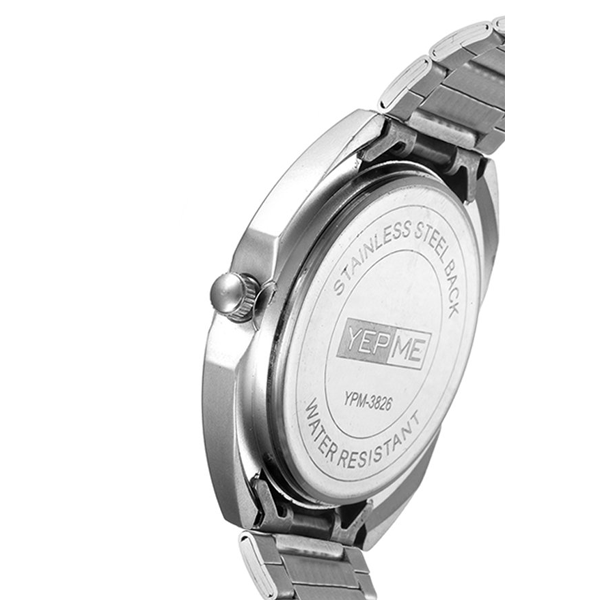 Yepme - 3826, Analog Metal Band Watch
