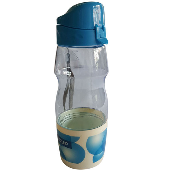 Zannuo Sipper Bottle With Detachable Cup At The Bottom ( Pink )