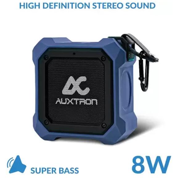 Auxtron THRUM 602 Waterproof Bluetooth Speaker (TWS) - Blue