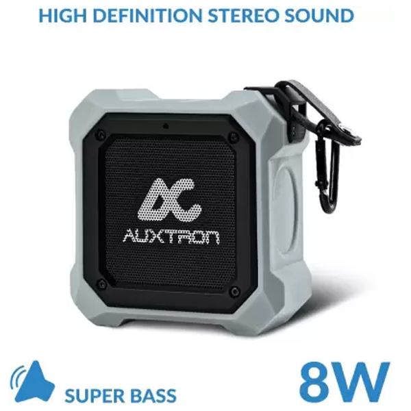Auxtron THRUM 602 Waterproof Bluetooth Speaker (TWS) - Grey